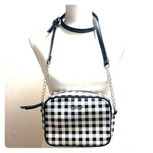 Nine West Nicolina Checkered Crossbody Bag